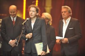 Discours de Manuela Neumann, lauréate du Grand Prix Européen 2012